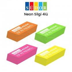 Südor - Südor Neon Silgi 4lü Kod:ER06