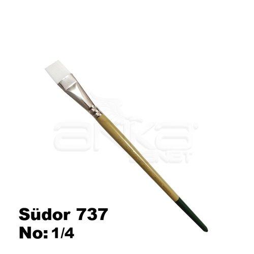 Südor 737 Seri One Stroke Sentetik Düz Kesik Uçlu Fırça
