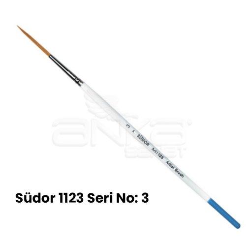 Südor 1123 Seri Sentetik Çizgi Fırça