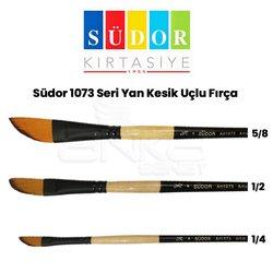 Südor - Südor 1073 Seri Yan Kesik Uçlu Fırça