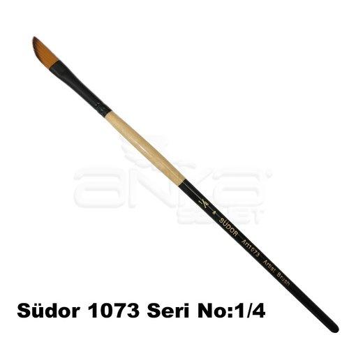 Südor 1073 Seri Yan Kesik Uçlu Fırça