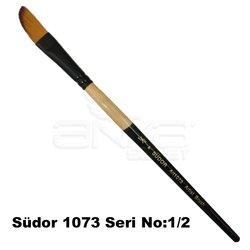 Südor 1073 Seri Yan Kesik Uçlu Fırça - Thumbnail