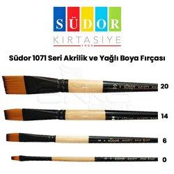 Südor - Südor 1071 Seri Akrilik ve Yağlı Boya Fırçası