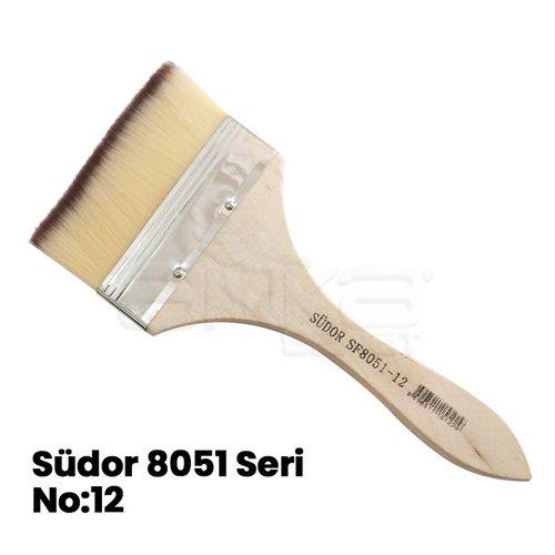 Südor 8051 Seri Zemin Fırçası Taklon