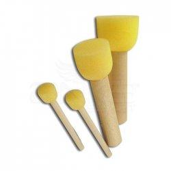 Sünger Tampon Fırça Seti 4lü - Thumbnail