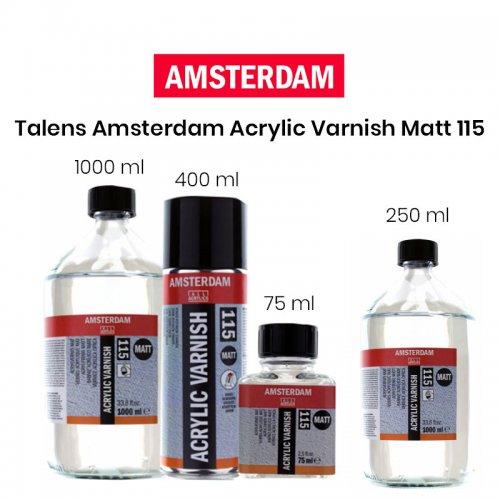 Talens Amsterdam Acrylic Varnish Matt No:115