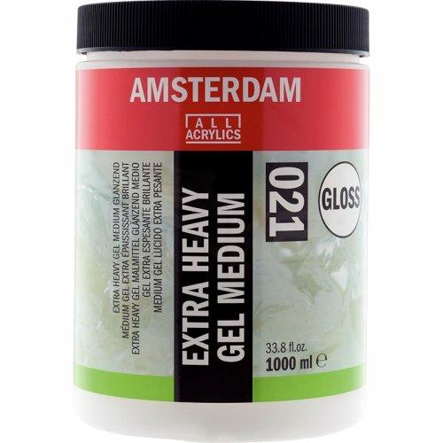 Talens Amsterdam Extra Heavy Gel Medium Gloss 021