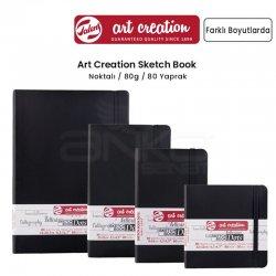 Art Creation - Talens Art Creation Dot Sketch Book Nokta İzli Çizim Defteri Dikey 80 Yaprak 80g