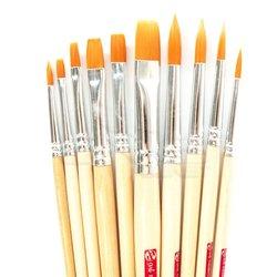 Art Creation - Talens Art Creation Fırça Seti Yuvarlak ve Düz Uç 10lu (1)