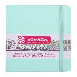 Art Creation - Talens Art Creation Sketch Book 12x12cm 140g 80 Yaprak Yeni Renkler (1)