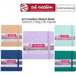 Art Creation - Talens Art Creation Sketch Book 12x12cm 140g 80 Yaprak Yeni Renkler