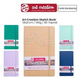 Art Creation - Talens Art Creation Sketch Book 13x21cm 140g 80 Yaprak Yeni Renkler