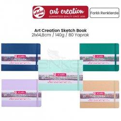 Art Creation - Talens Art Creation Sketch Book 21x14,8cm 140g 80 Yaprak Yeni Renkler