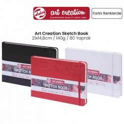 Art Creation - Talens Art Creation Sketch Book 21x14,8cm 140g 80 Yaprak