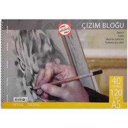 Talens Çizim Bloğu Spiralli 120g 40 Yaprak - Thumbnail