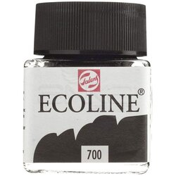 Talens Ecoline 30ml Black No:700 - Thumbnail