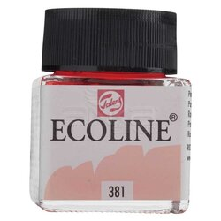 Talens Ecoline 30ml Pastel Red No:381 - Thumbnail