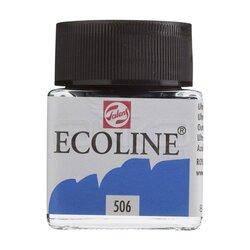 Talens Ecoline 30ml Ultramarine Deep No:506 - Thumbnail