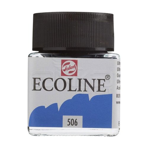Talens Ecoline 30ml Ultramarine Deep No:506