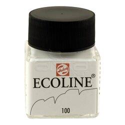 Talens Ecoline 30ml White No:100 - Thumbnail