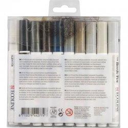 Talens Ecoline Brush Pen 10lu Set Gri Renkler 9805 - Thumbnail