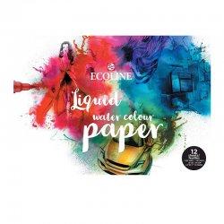 Talens - Talens Ecoline Liquid Water Colour Paper A3 290g 12 Yaprak