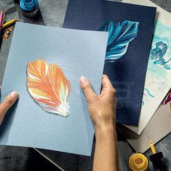 Talens - Talens Toned Colour Mix Cold Çok Amaçlı Sanatsal Blok 180g 50 Yaprak (1)