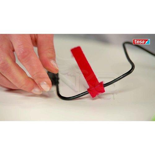 Tesa On&Off Kablo Toplayıcı Renkli 5li 20cmx12mm 55236-00000