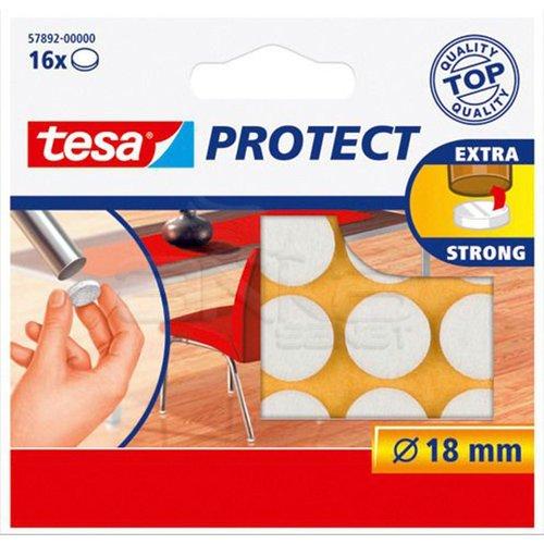 Tesa Protect Çizilmeyi Önleyici Keçe Beyaz 16lı 18mm 57892-00000
