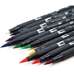 Tombow Dual Brush Pen 10lu Bright Palette - Thumbnail