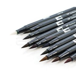 Tombow - Tombow Dual Brush Pen 10lu Muted Palette (1)