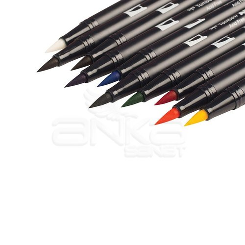 Tombow Dual Brush Pen 10lu Primary Palette