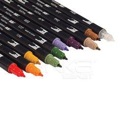 Tombow Dual Brush Pen 10lu Secondary Palette - Thumbnail