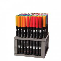 Tombow - Tombow Dual Brush Pen 96lı Set (1)