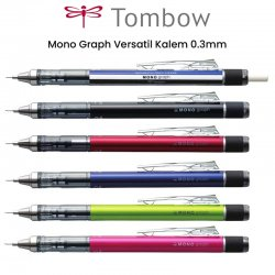 Tombow Mono Graph Versatil Kalem 0.3mm - Thumbnail