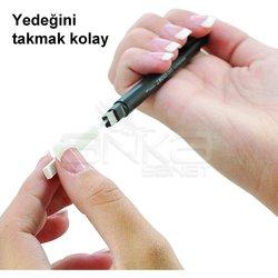 Tombow Mono Zero Kalem Silgi Yassı Uç Siyah 2.5x5mm - Thumbnail