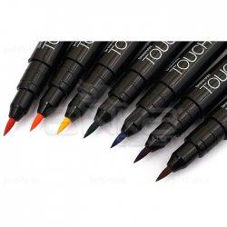 Touch - Touch Liner Brush Renkli 7li Fırça Uçlu Kalem Set SH4305007 (1)
