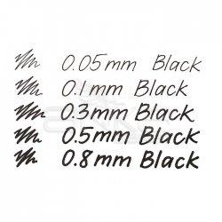 Touch Liner Teknik Çizim Kalemi 5li Set Siyah SH4100005 - Thumbnail