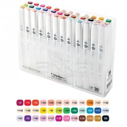 Touch Twin Brush Marker Kalem 36lı Set - Thumbnail