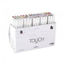 Touch - Touch Twin Brush Marker Kalem 60lı Set A