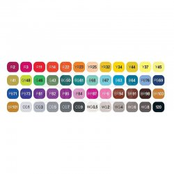 Touch - Touch Twin Marker Kalem 48li Set (1)