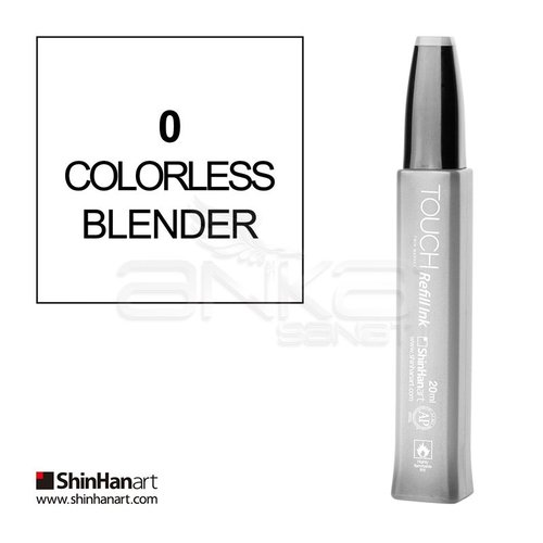 Touch Twin Marker Refill İnk 20ml 0 Colorless Blender