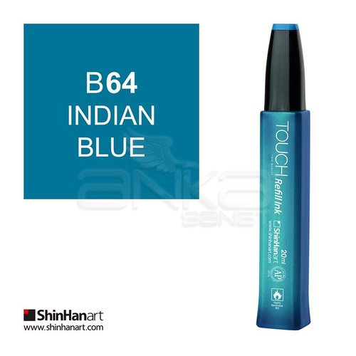 Touch Twin Marker Refill İnk 20ml B64 İndian Blue