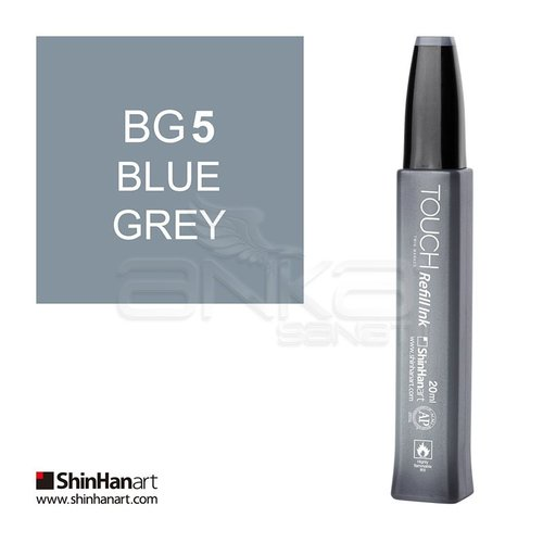 Touch Twin Marker Refill İnk 20ml BG5 Blue Grey