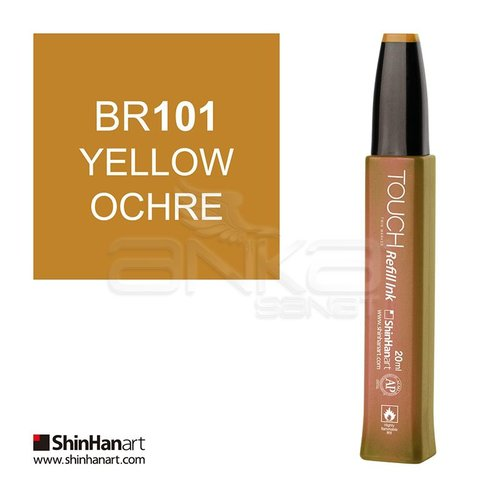 Touch Twin Marker Refill İnk 20ml BR101 Yellow Ochre