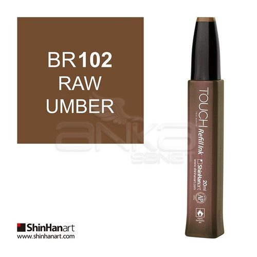 Touch Twin Marker Refill İnk 20ml BR102 Raw Umber
