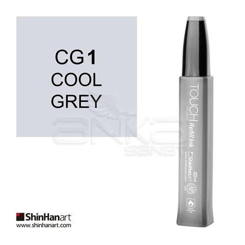 Touch Twin Marker Refill İnk 20ml CG1 Cool Grey