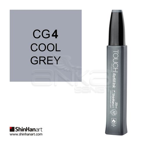 Touch Twin Marker Refill İnk 20ml CG4 Cool Grey