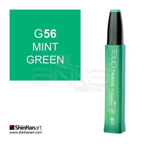 Touch Twin Marker Refill İnk 20ml G56 Mint Green