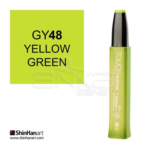 Touch Twin Marker Refill İnk 20ml GY48 Yellow Green